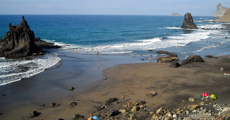 Бенихо (Playa de Benijo)