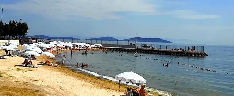 Джаддебостан (Caddebostan beach)
