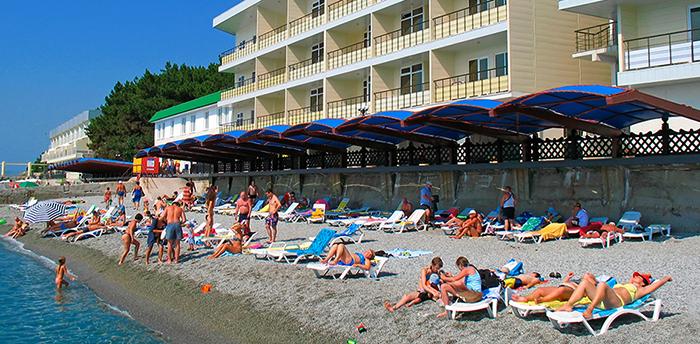 Пляж санатория «Ай Даниль»