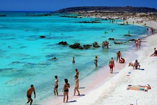 """Пляж """"Элафониси"""" (""""Elafonisi Beach"""")"""