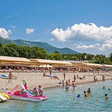 Пляжи Геленджика — обзор популярных мест для купания (с фото)