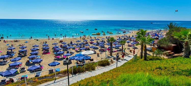 Глики Неро (Glyki Nero Beach)