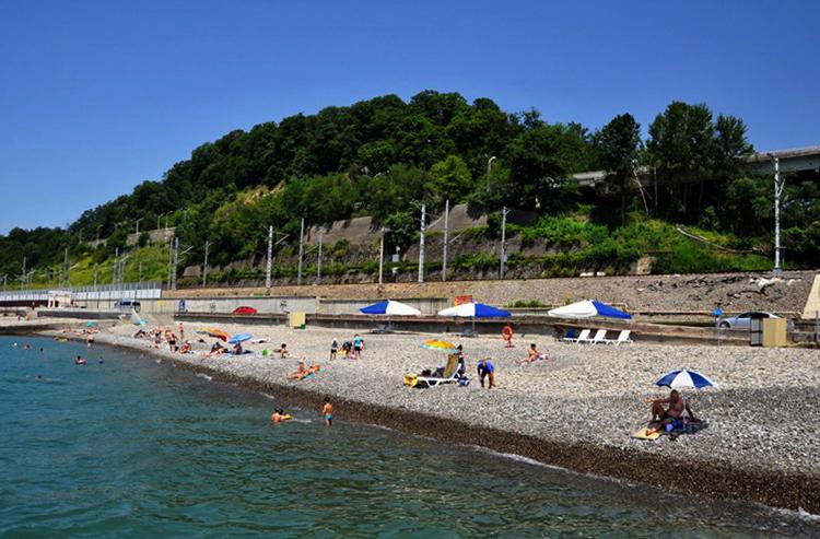 Пляж Хосты