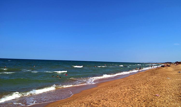 Пляж в Инчхе