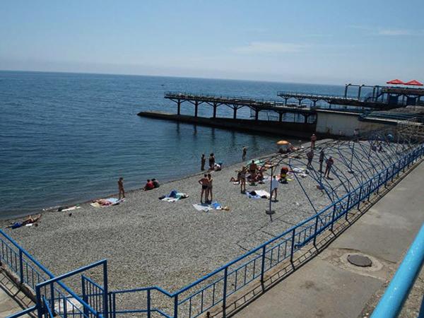 Пляж Левадии