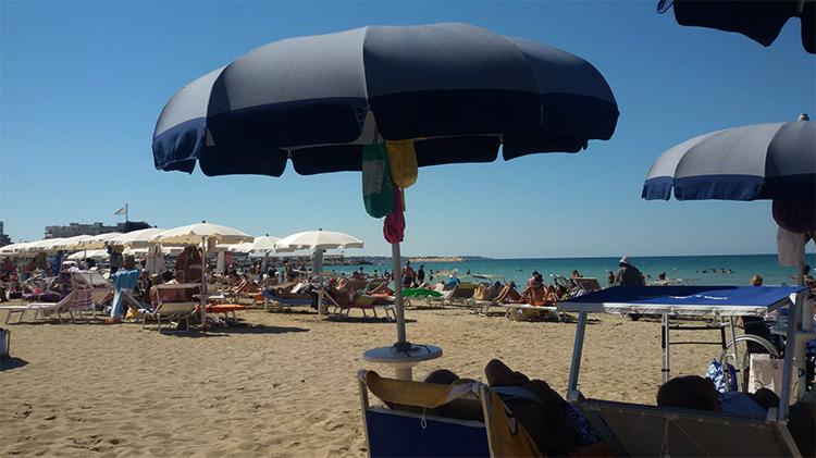 Пляж Лидо сан Франческо (Lido San Francesco alla Rena)