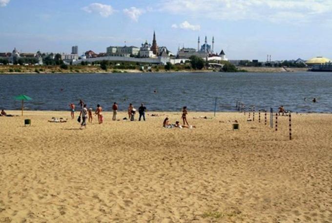 Пляж Локомотив