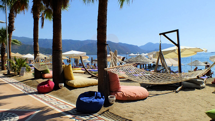 Пляж Мармарис (Marmaris Long Beach)