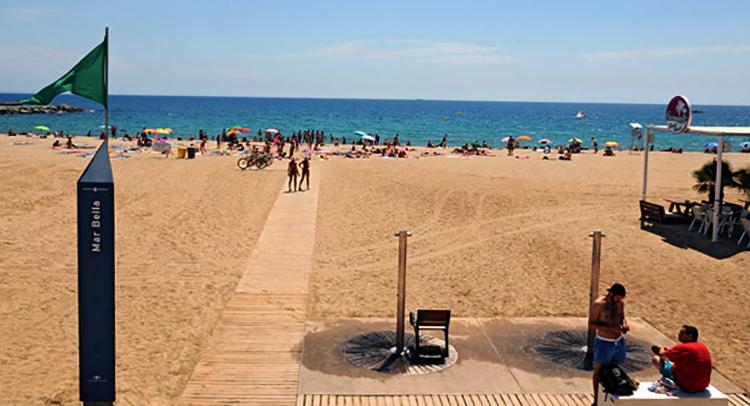 """Пляж """"Ла Мар Белла"""""""