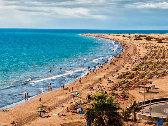 "Пляж ""Маспаломас"" (""Maspalomas Beach"")"