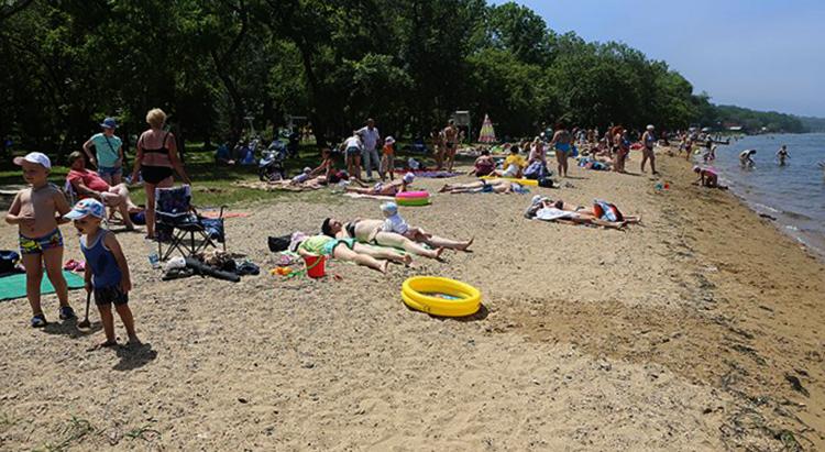 Пляж Санаторной