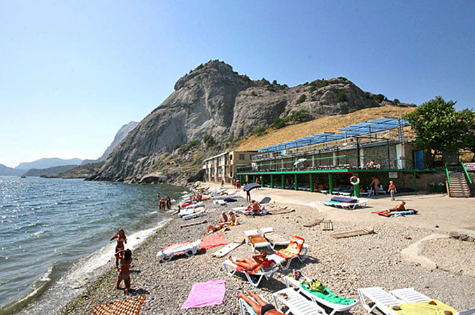 Пляж санатория «Сокол»