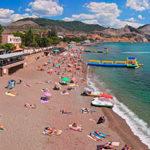 Пляжи Судака: фото, названия и описание