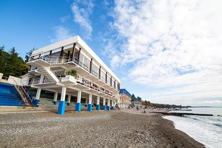 Пляж санатория «Сухум»