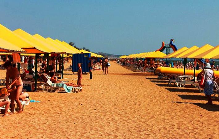 Городской пляж СанДали (SunDali)