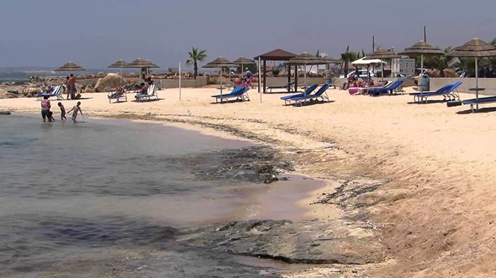 Айя Фекла (Agia Thekla Beach)
