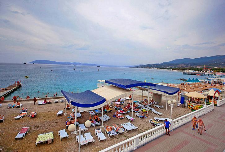 Пляж санатория «Жемчужина Моря»