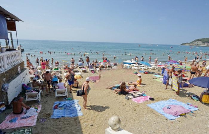 """Пляж базы отдыха """"Адыгея"""""""