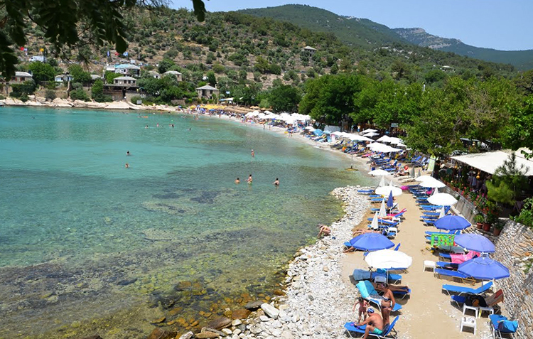Пляж Алики (Aliki beach)