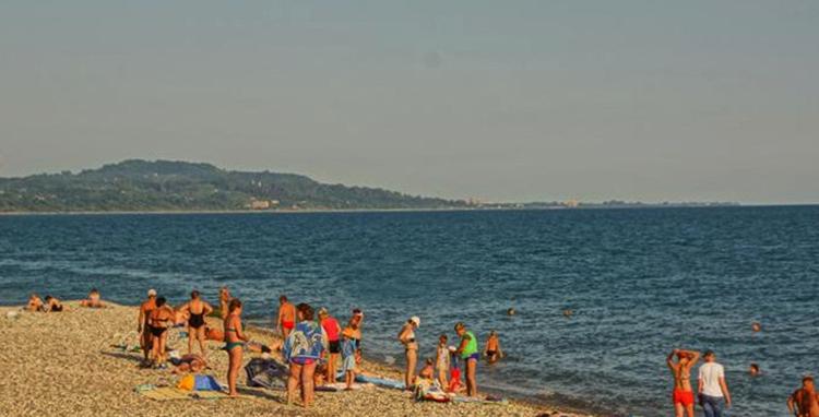 Пляж у Армянского ущелья