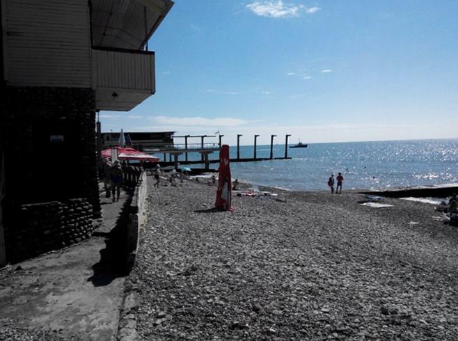 Пляж пансионата «Автомобилист»