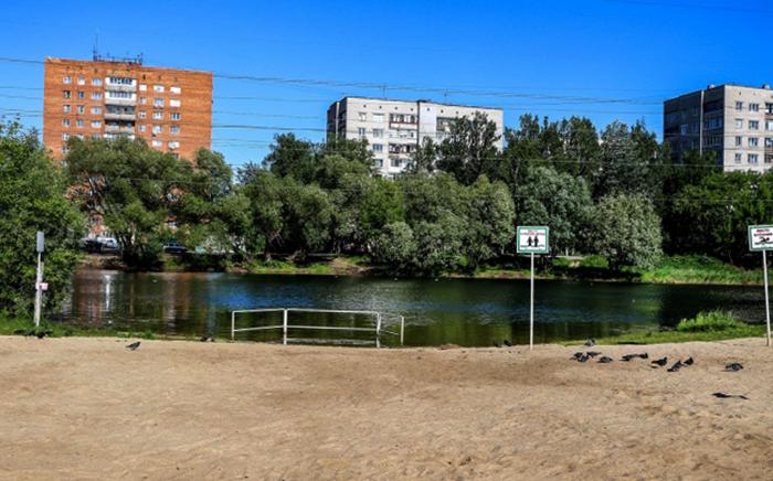 Озеро возле 39-й больницы