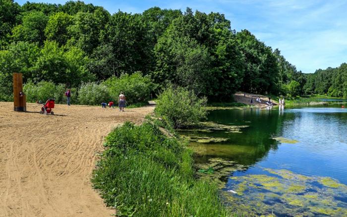 1-е озеро Щелоковского хутора