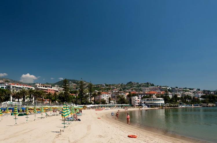 Городской пляж Сан-Ремо
