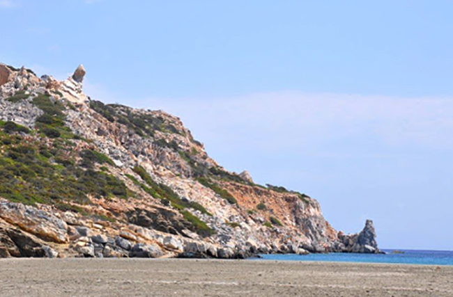 Деспотико (Despotiko Beach)