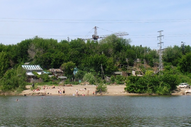 Дикий пляж (Киркомбинат)