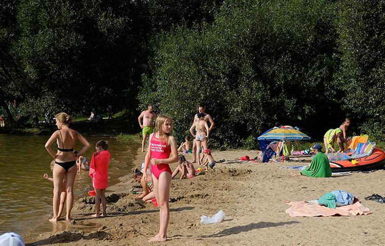 Пляж Дубровского водохранилища бесплатный