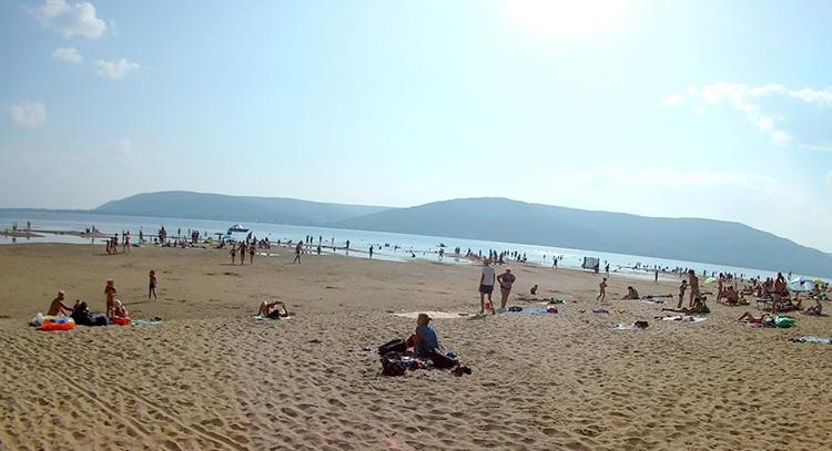 Пляж Красная глинка