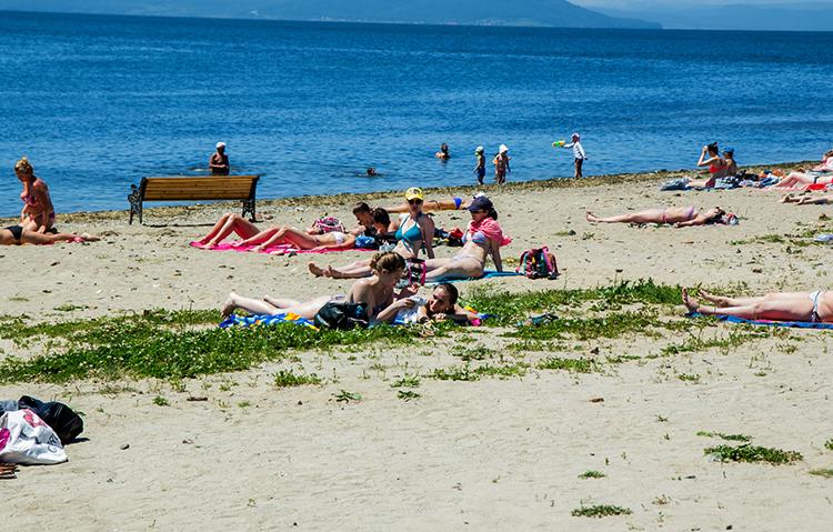 Пляж Кунгасный