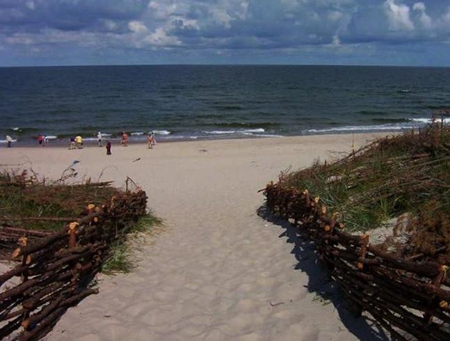 Пляж Куршской косы