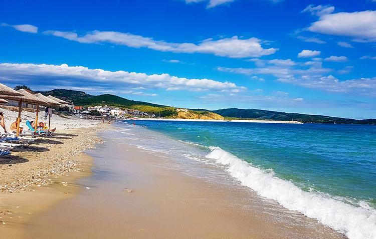 Пляж Лименария (Limenaria beach)