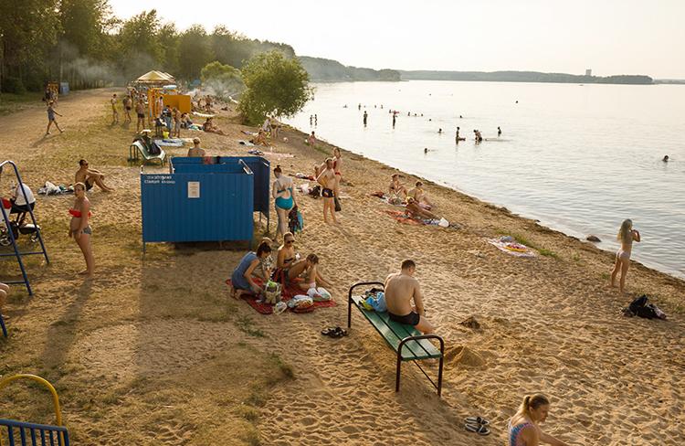 Пляжная зона №6 Минского моря