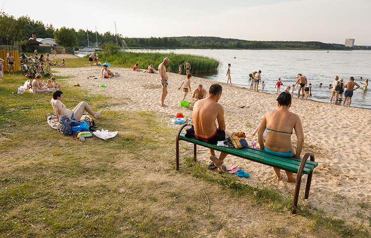 Пляжная зона №8 Минского моря