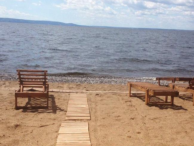 Пляж Nebo