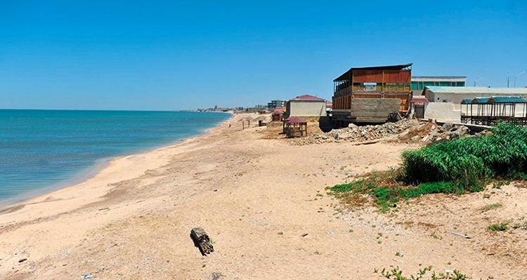 """Пляж """"Новханы"""" (""""Novxani Beach"""")"""