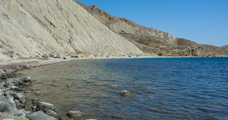 Нудистский поселковый пляж