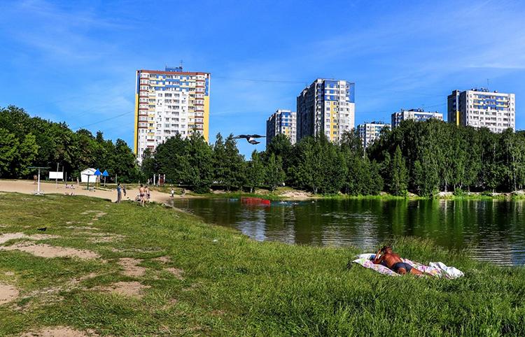 Озеро 2-ой очереди Автозаводского парка