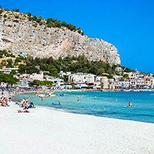 Пляжи Палермо: описание и обзор красивых мест побережья