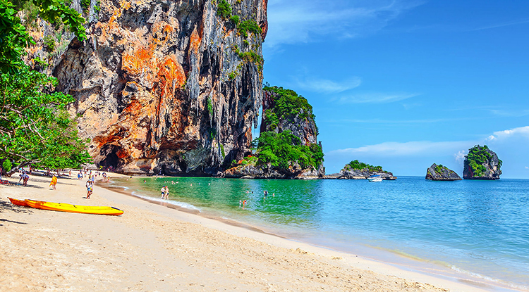 Пра Нанг (Phra Nang Beach)