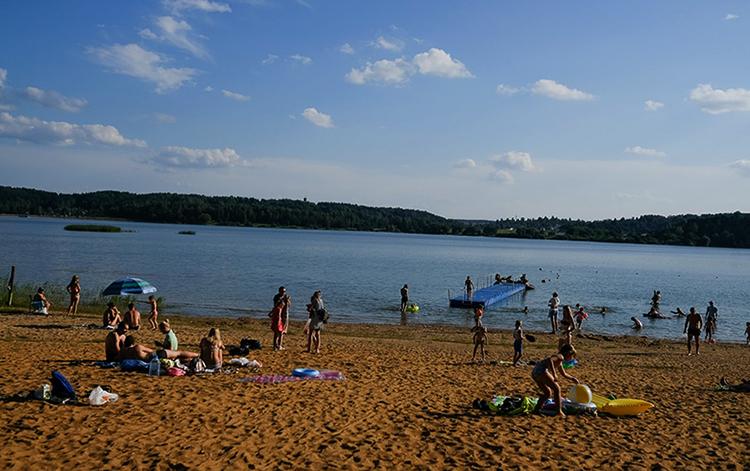Пляж Дубровского водохранилища платный