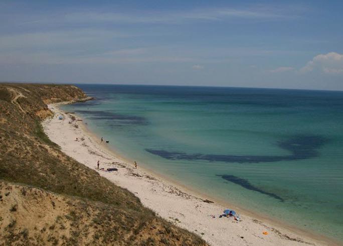 Пляж Окуневки