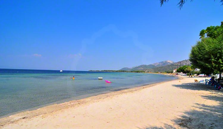 Пляж Принос (Prinos beach)