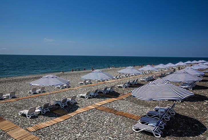 """Пляж отеля """"Radisson BLU"""""""