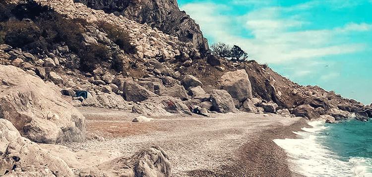 Пляж «Затерянный мир»