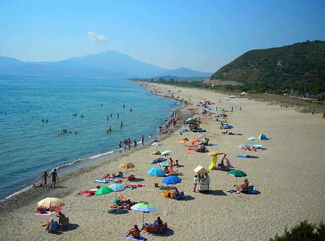 Ашеа Марина (Spiaggia di Ascea Marina)