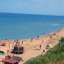 Лучшие пляжи Азовского моря (с фото)
